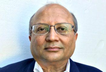 Portrait of Shyam Parekh